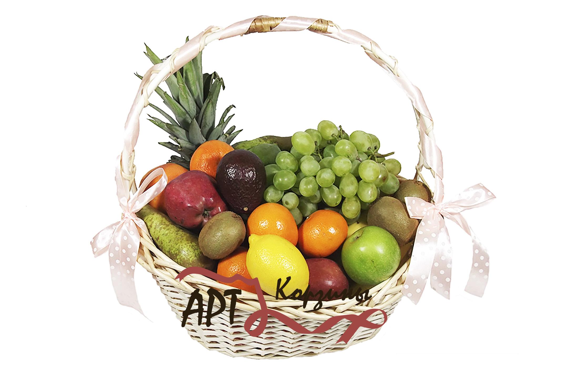 поздравление к подарку из корзины с фруктами столкнулись самой большой